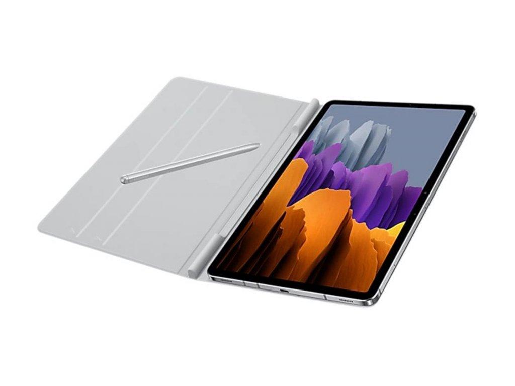 Ochranné flipové Puzdro Samsung Galaxy Tab S7 Svetlo sivé