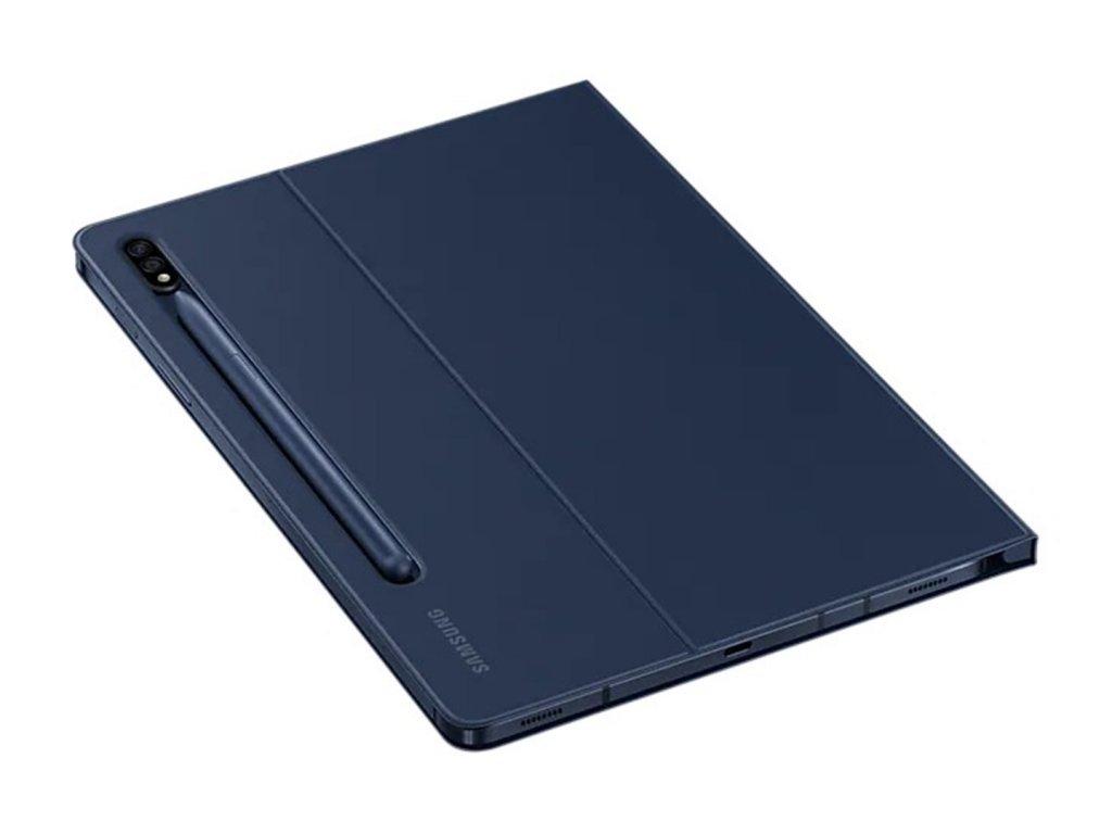 Ochranné flipové Puzdro Samsung Galaxy Tab S7 Tmavo modrá
