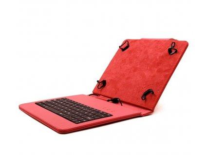 Kožené puzdro s integrovanou klávesnicou pre tablet Lenovo IdeaTab A8-50