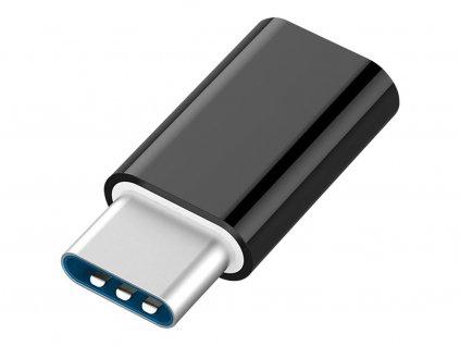 Huawei adaptér z microUSB na USB-C  - biely