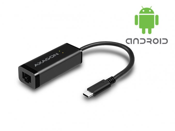 Ethernet sieťový adaptér RJ-45 pre tablety - microUSB