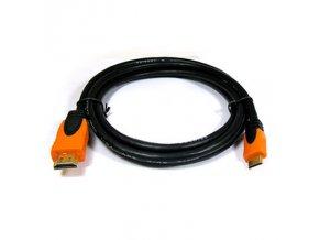 314 kabel mini hdmi hdmi pozlateny 1 5 m