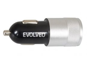 USB autonabíjačka Gembird pre tablety, smartfóny a navigácie - nabíjačka do auta 2A - čierna