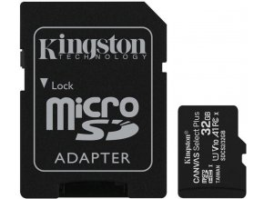 32GB pamäťová karta microSDHC Kingston UHS-I U1 45R/10W pre tablet/smartfón